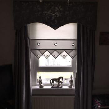 Living Room Blinds in Falkirk