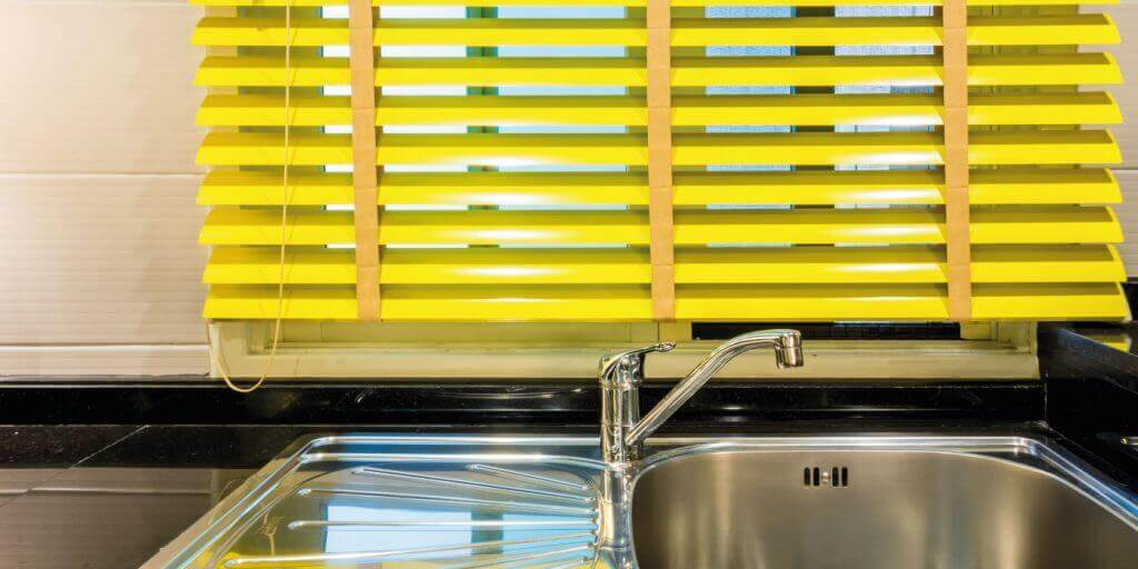 Yellow Blinds Glasgow