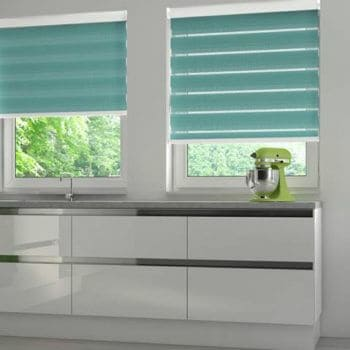 patio door day and night blinds Glasgow in Scotland