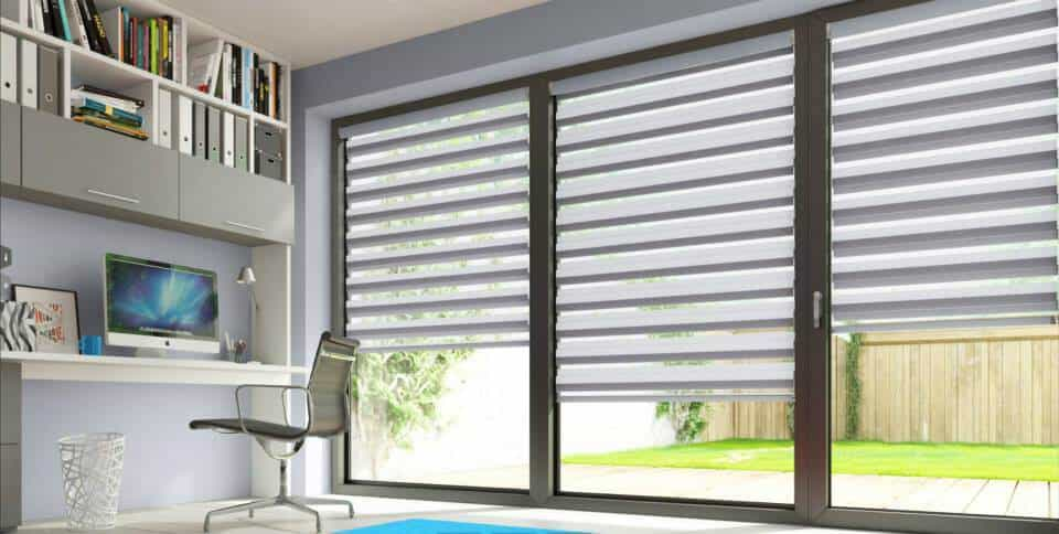 day and night patio door blinds Glasgow in Scotland