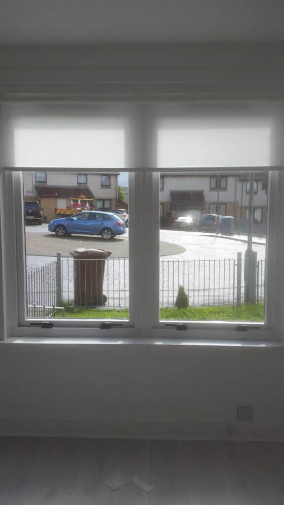 white roller blinds Glasgow