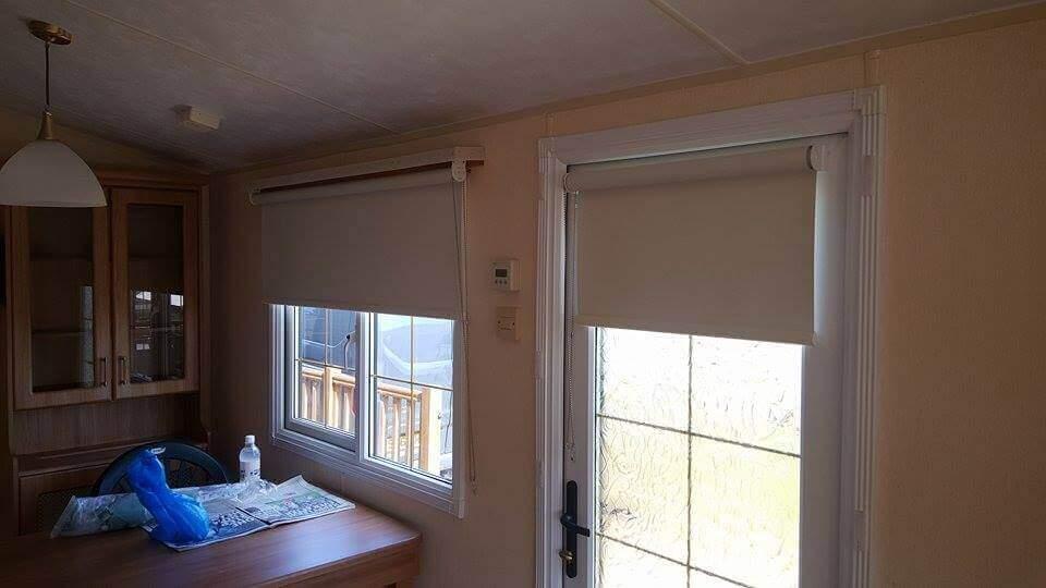 white roller blinds Edinburgh