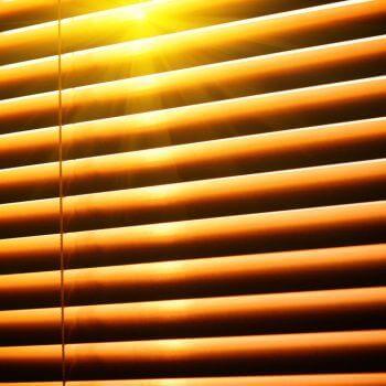 Sunshine Yellow Blinds Glasgow