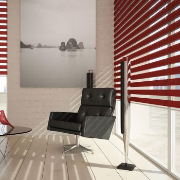 Patterned Blinds for office Glasgow in Scotland