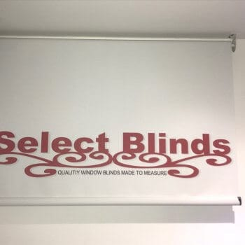 Logo Printed Blinds Livingston