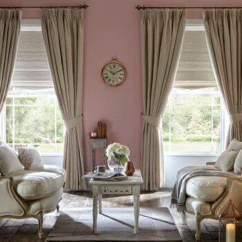 roman blinds and curtains Glasgow in Scotland