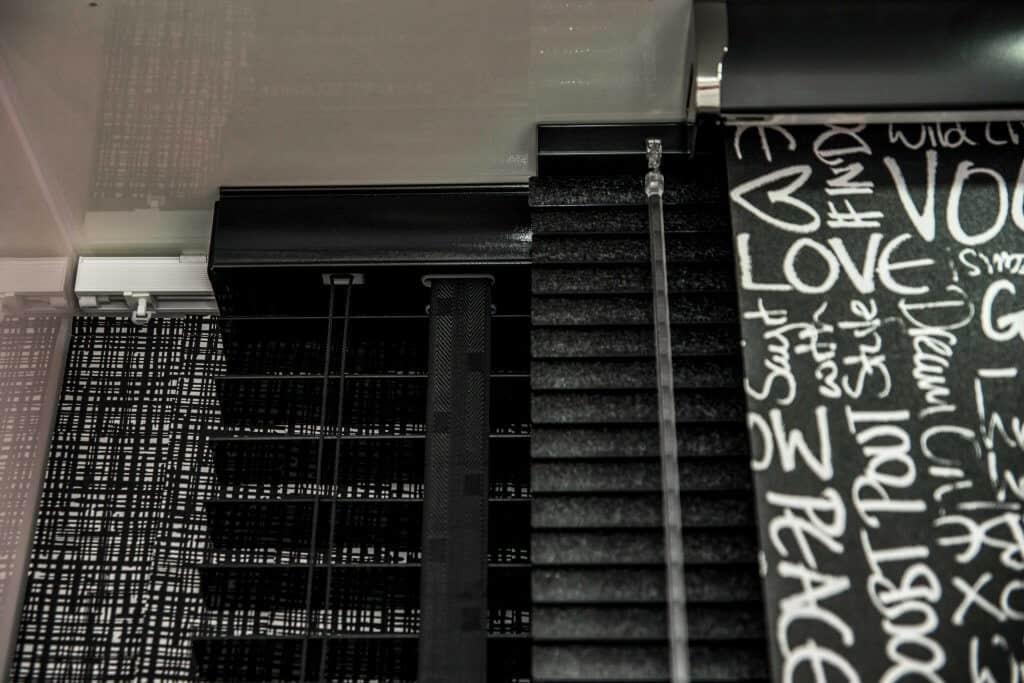 black blinds Glasgow in Scotland