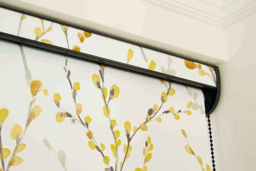 Brazen Yellow Roller Blinds Glasgow
