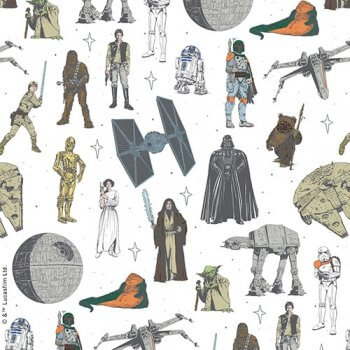 Characters from Star Wars Blinds