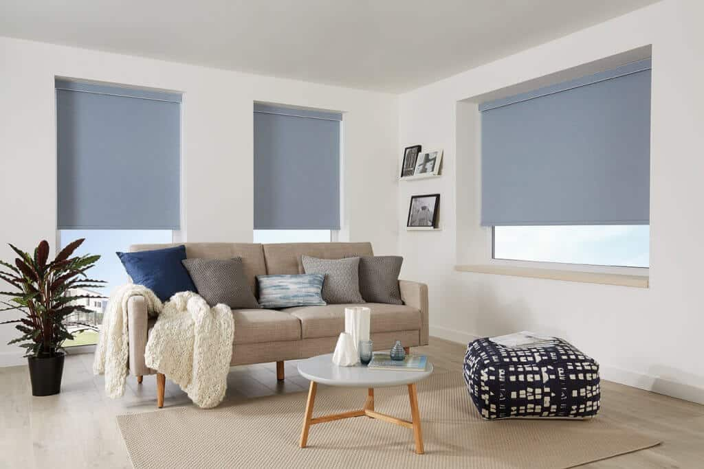 Denim Roller Blinds Glasgow