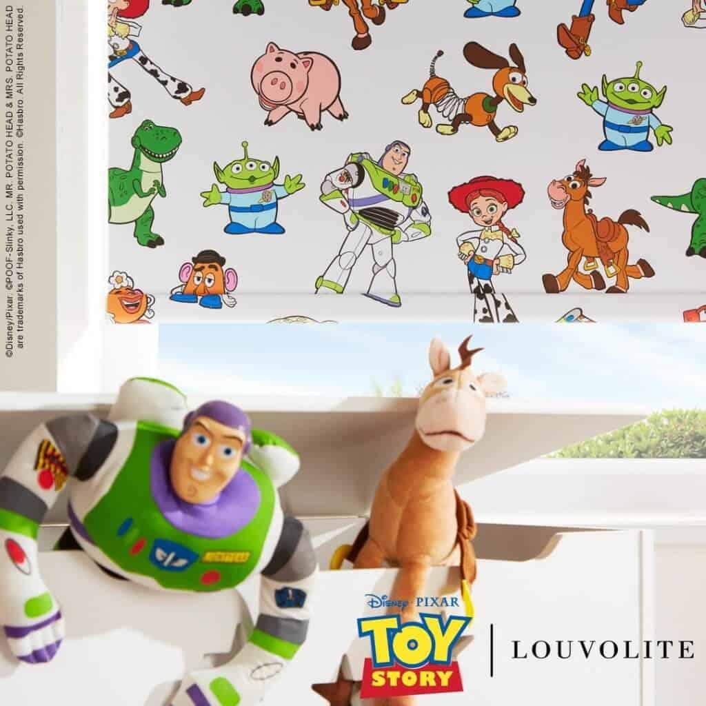 Disney Pixar Toy Story Woody Buzz Lightyear Blinds