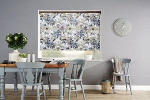 Flower Roller Blinds Glasgow