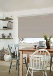 Grey clay cream Roller Blinds Glasgow