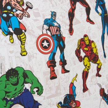 Marvel Avengers Spiderman Captain America Hulk Thor Ironman Spider-man Iron-man Blinds
