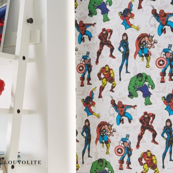 Marvel Avengers Spiderman Captain America Hulk Thor Ironman Spider-man Iron-man Blinds Glasgow