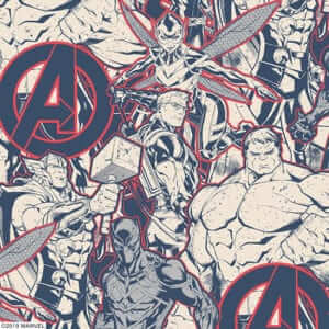 Marvel Comic Heroes Blinds