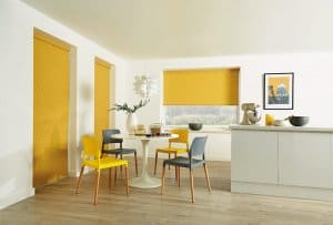 Mustard Roller Blinds Glasgow