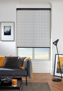 Preto Black Roller Blinds Glasgow