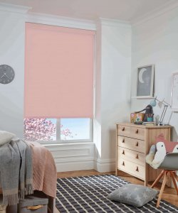 Roller Blinds Glasgow Baby Pink