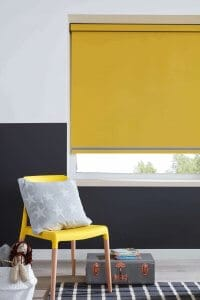 Roller Blinds Glasgow Mustard Yellow