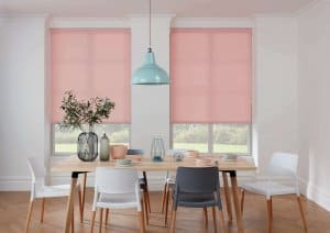 Roller Blinds Glasgow Pink