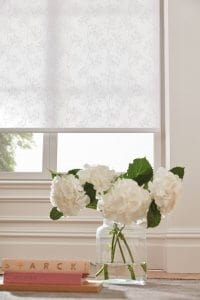 Roller Blinds Glasgow White pattern