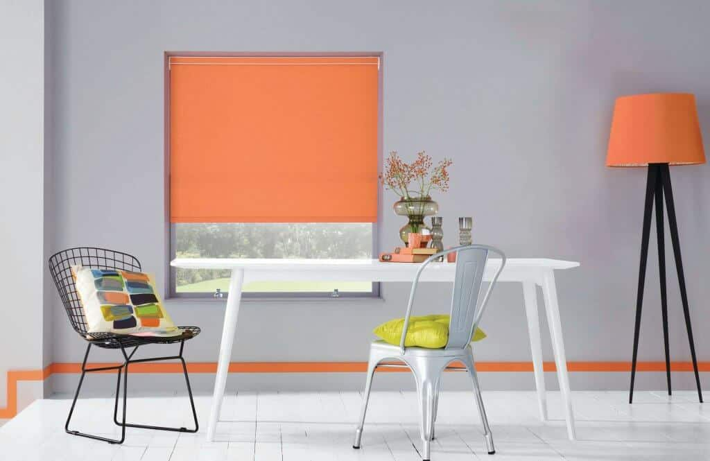 Sunrise orange Roller Blinds Glasgow