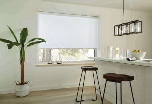 White Roller Blinds Glasgow