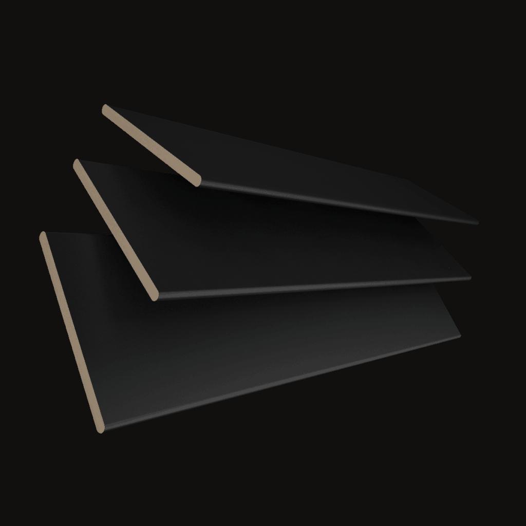 Wooden Blinds Colour Black Carbon Glasgow