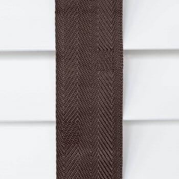 Wooden Blinds Glasgow Tape Taped Colour Coffee Brown