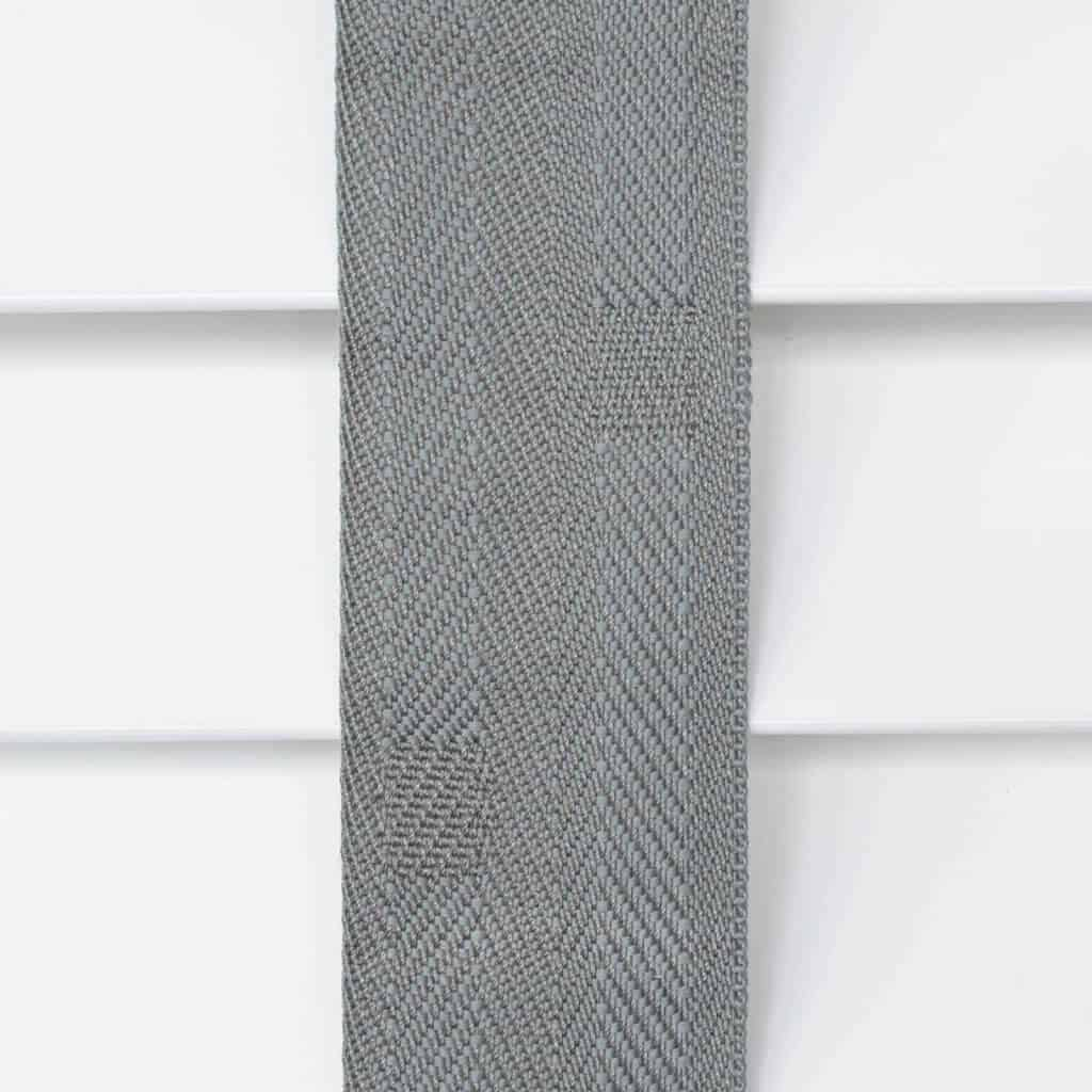 Wooden Blinds Glasgow Tape Taped Colour Grey Steel