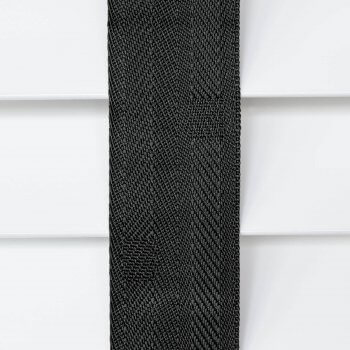 Wooden Blinds Glasgow Tape Taped Colour Jet Black