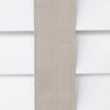 Wooden Blinds Glasgow Tape Taped Colour Light Grey