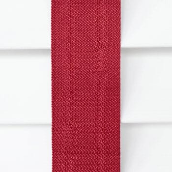 Wooden Blinds Glasgow Tape Taped Colour Red