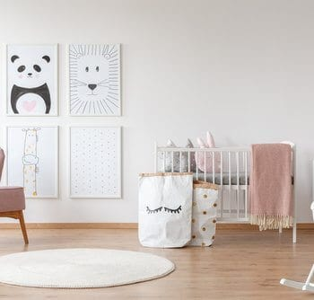 Child's bedroom decor, personalised artwork