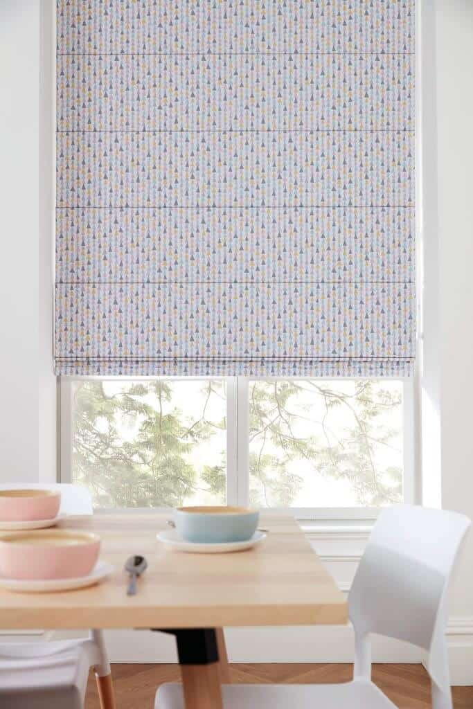 Roman Blinds Glasgow Edinburgh pastel