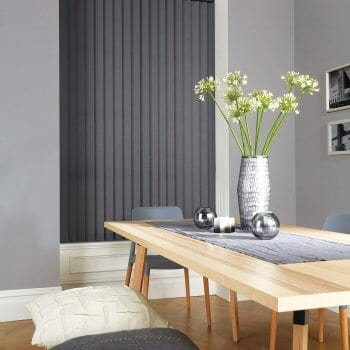 Vertical Blinds Glasgow Edinburgh Dark grey
