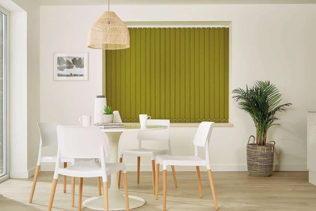 Vertical Blinds Glasgow Edinburgh Green