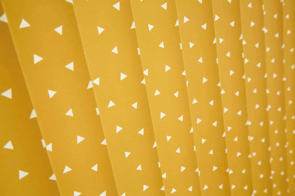 Vertical Blinds Glasgow Edinburgh Mustard Yellow