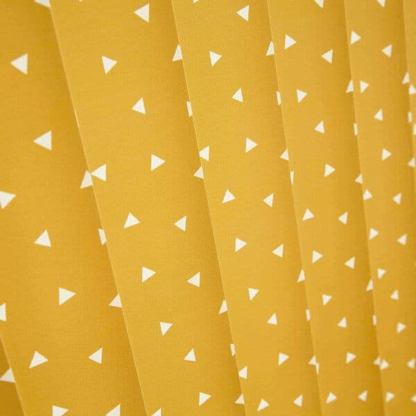 Vertical Blinds Glasgow Edinburgh Mustard Yellow