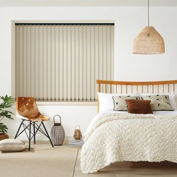 Vertical Blinds Glasgow Edinburgh Oatmeal