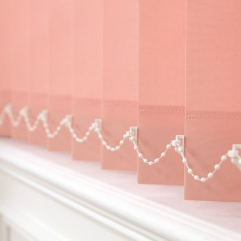 Vertical Blinds Glasgow Edinburgh Pink