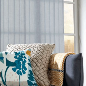 Vertical Blinds Glasgow Edinburgh Silver coloured