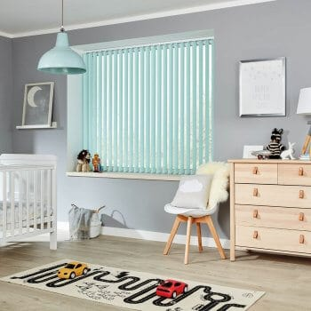 Vertical Blinds Glasgow Edinburgh aqua green