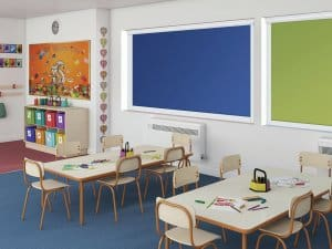 Commercial Blinds in Glasgow School