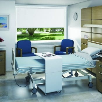 Commercial blinds for surgery hospital privacy