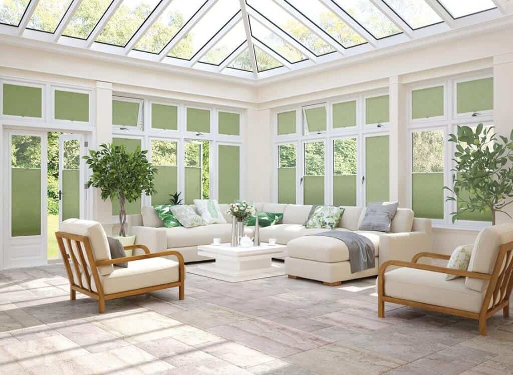 Perfect fit blinds conservatory Glasgow