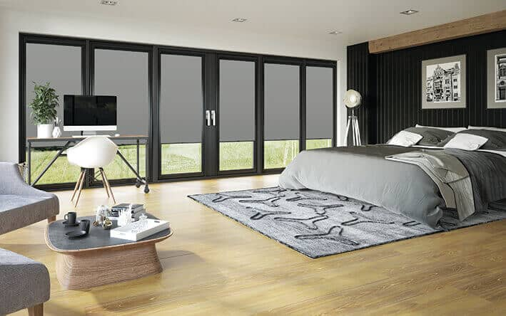 Perfect fit blinds for Bi-fold doors in Glasgow