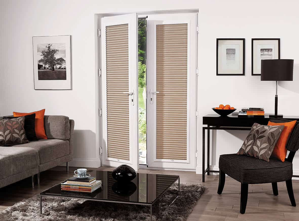 Perfect fit blinds patio doors