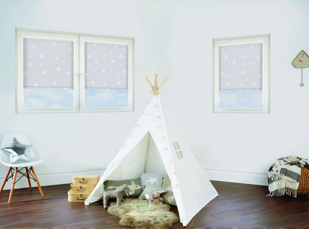 day & night blinds Childs Bedroom